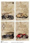 Декупажные карты Men & Vintage 4  30 гр/м2