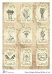 Декупажные карты Vintage collection 13   30 гр/м2